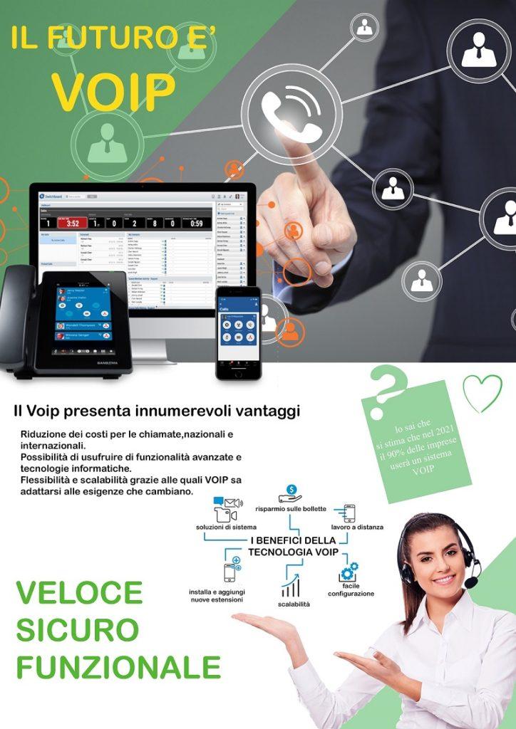 centralino voip communication