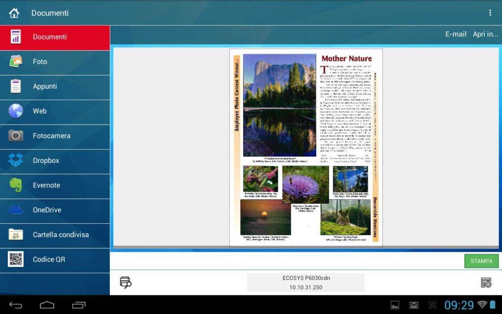 Studio Copia App Kyocera Mobile Print