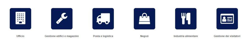 settori per Etichettatrice e Stampante per Etichette